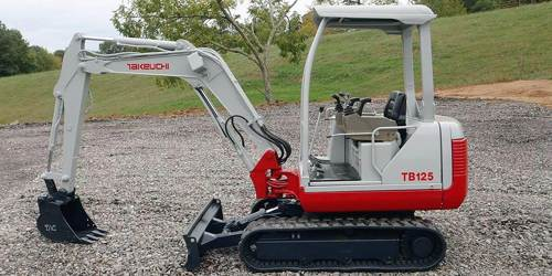 Takeuchi Rubber Track